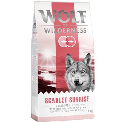 Wolf of Wilderness Scarlet Sunrise con salmón y atún