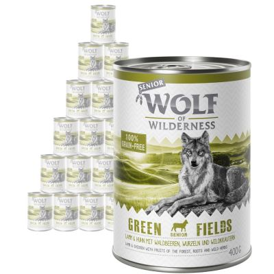 Wolf of Wilderness Senior Saver Pack 24 x 400g