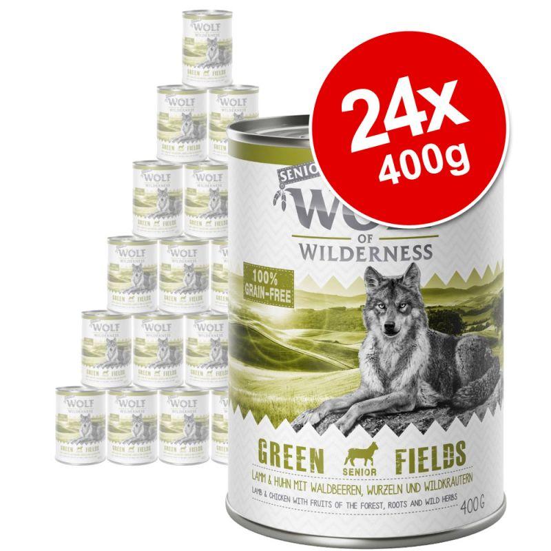 Wolf of Wilderness Senior Saver Pack 24 x 400g