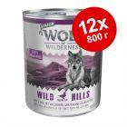 Экономупаковка Wolf of Wilderness Senior 12 x 800 г