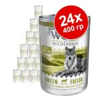 Икономична опаковка Wolf of Wilderness Senior 24 x 400 г