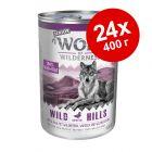 Экономупаковка Wolf of Wilderness Senior 24 x 400 г