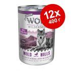 Экономупаковка Wolf of Wilderness Senior 12 x 400 г