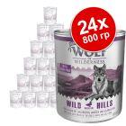 Икономична опаковка Wolf of Wilderness Senior 24 x 800 г
