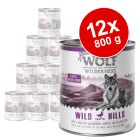 Wolf of Wilderness Senior 12 x 800 g - Pack Ahorro