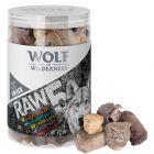 Wolf of Wilderness snack - 5 fajta fagyasztva szárított snack vegyesen