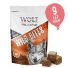 Wolf of Wilderness Snack - Wild Bites 180 g po poskusni ceni!