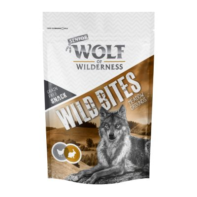 Wolf of Wilderness Snack - Wild Bites Senior 180 g