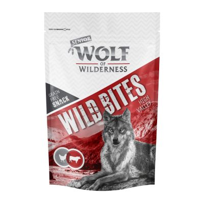 Wolf of Wilderness Snack Wild Bites Senior