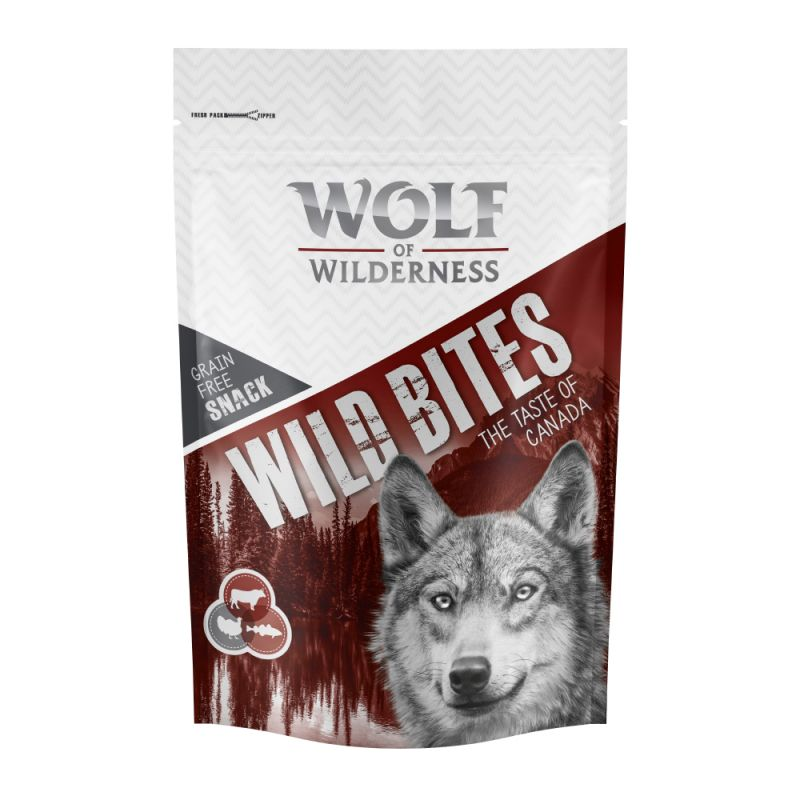 Wolf of Wilderness Snack - Wild Bites The Taste Of 180 g