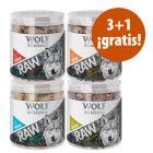 Wolf of Wilderness snacks liofilizados premium en oferta: 3 + 1 ¡gratis!
