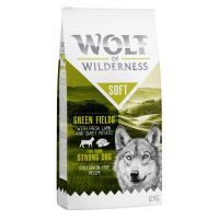 Wolf of Wilderness Soft Green Fields, agneau pour chien