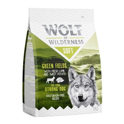 Wolf of Wilderness Soft Green Fields con cordero