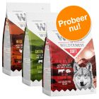 "Wolf of Wilderness ""Soft & Strong"" - Gemengd Probeerpakket 3 x 1 kg"