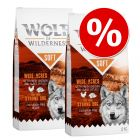 """Πακέτο Προσφοράς Wolf of Wilderness """"Soft & Strong"""" 2 x 12 kg"""