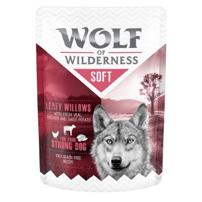 Wolf of Wilderness Soft 12 x 300 g - Pack económico