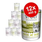 Wolf of Wilderness -säästöpakkaus 12 x 400 g