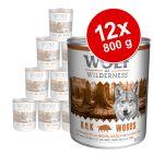 Wolf of Wilderness -säästöpakkaus 12 x 800 g