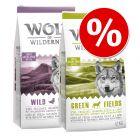 Wolf of Wilderness -säästösekoitus 2 x 12 kg