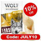 """Wolf of Wilderness """"Sunny Glade""""- Dried Venison Ears"""
