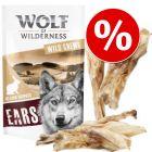 Wolf of Wilderness szárított snackek 15% kedvezménnyel!