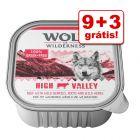 Wolf of Wilderness terrinas 12 x 300 g em promoção: 9 + 3 grátis!