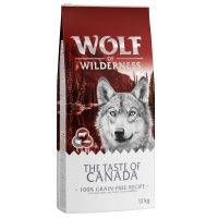 Wolf of Wilderness The Taste Of Canada, con vacuno, bacalao y pavo