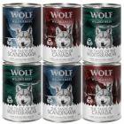 Wolf of Wilderness The Taste Of - Gemengd Pakket 6 x 400 g
