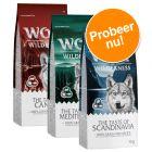 "Wolf of Wilderness ""The Taste Of"" - gemengd probeerpakket 3 x 1 kg"