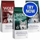 """Wolf of Wilderness """"The Taste of"""" Mixed Trial Pack"""