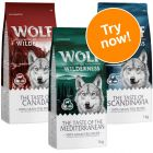 "Wolf of Wilderness ""The Taste of"" Mixed Trial Pack"