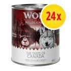 "Wolf of Wilderness ""The Taste of"" Multibuy 24 x 800g"