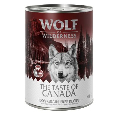 Wolf Of Wilderness The Taste Of - pack de prueba