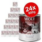 "Wolf of Wilderness ""The Taste of"" Saver Pack 24 x 800g"