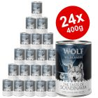 "Wolf of Wilderness ""The Taste of"" Saver Pack 24 x 400g"
