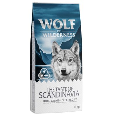 Wolf of Wilderness The Taste of Scandinavia pour chien