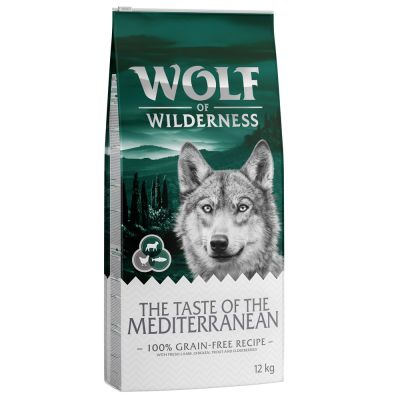 Wolf of Wilderness The Taste Of The Mediterranean pour chien
