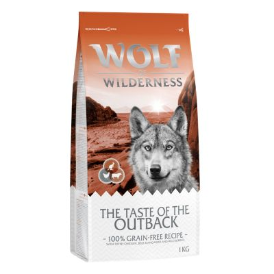 Wolf of Wilderness The Taste Of The Outback, con pollo, vacuno y canguro