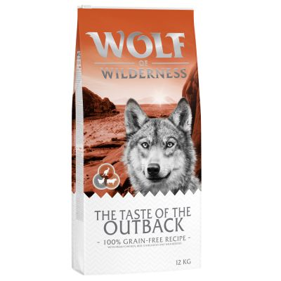 Wolf of Wilderness The Taste Of The Outback pour chien