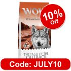 """Wolf of Wilderness """"The Taste Of The Outback"""" - with Chicken & Kangaroo"""