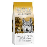 Wolf of Wilderness The Taste Of The Savanna pour chien