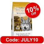 """Wolf of Wilderness """"The Taste Of The Savanna"""" - with Beef & Goat"""