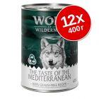 "Экономупаковка Wolf of Wilderness ""The Taste Of"" 12 x 400 г"