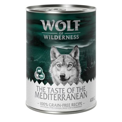 Wolf of Wilderness The Taste Of 6 x 400 g