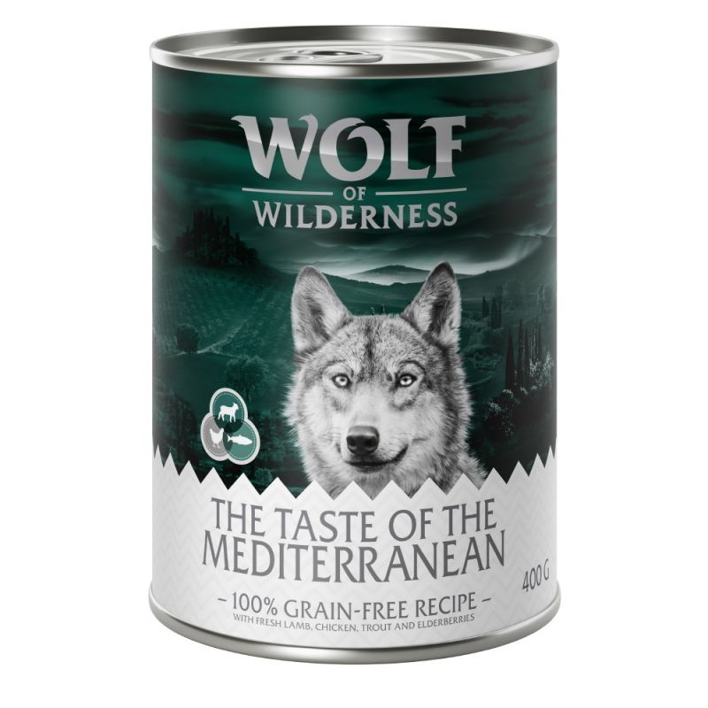"Wolf of Wilderness ""The Taste of"" 6 x 400g"