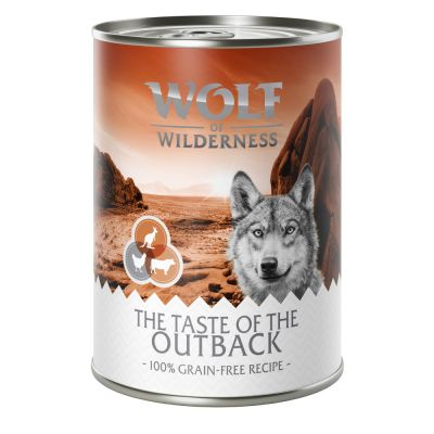 Wolf of Wilderness 'The Taste Of' 6 x 400 g