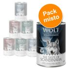 "Wolf of Wilderness ""The Taste Of"" 6 x 400 g - Pack misto"