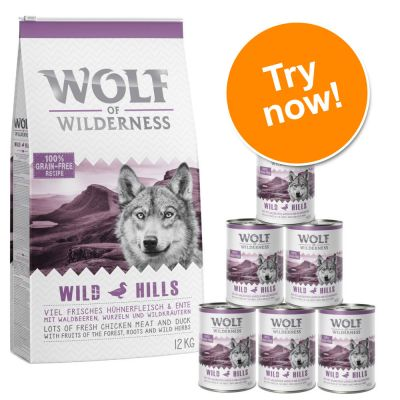 Wolf of Wilderness Trial Pack: Dry & Wet Food