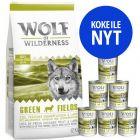 Wolf of Wilderness -tutustumispakkaus: märkä- & kuivamuona