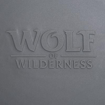 Wolf of Wilderness víko na konzervu